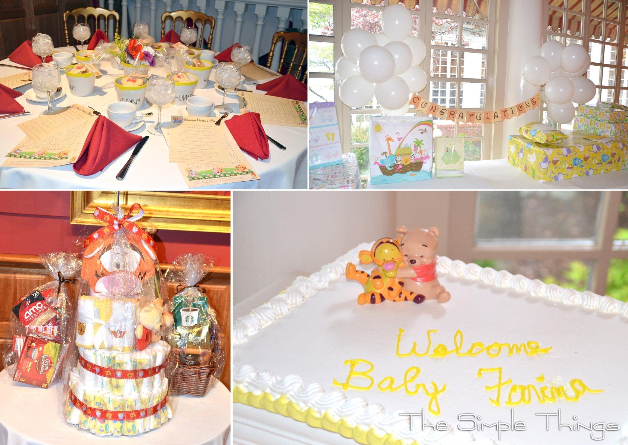 10 Wonderful Classic Winnie The Pooh Baby Shower Ideas photo winnie the pooh baby image 1 2020