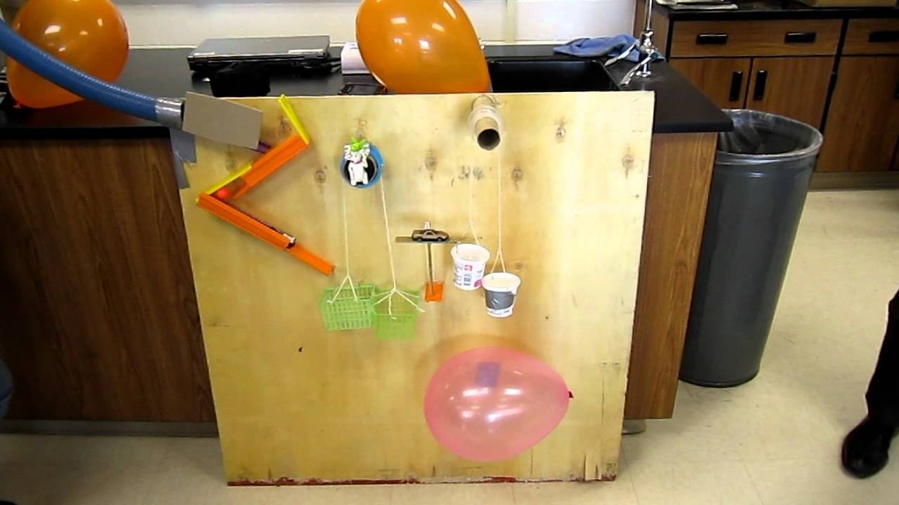 10 Lovely Ideas For A Rube Goldberg Machine physical science rube goldberg machine youtube 2020