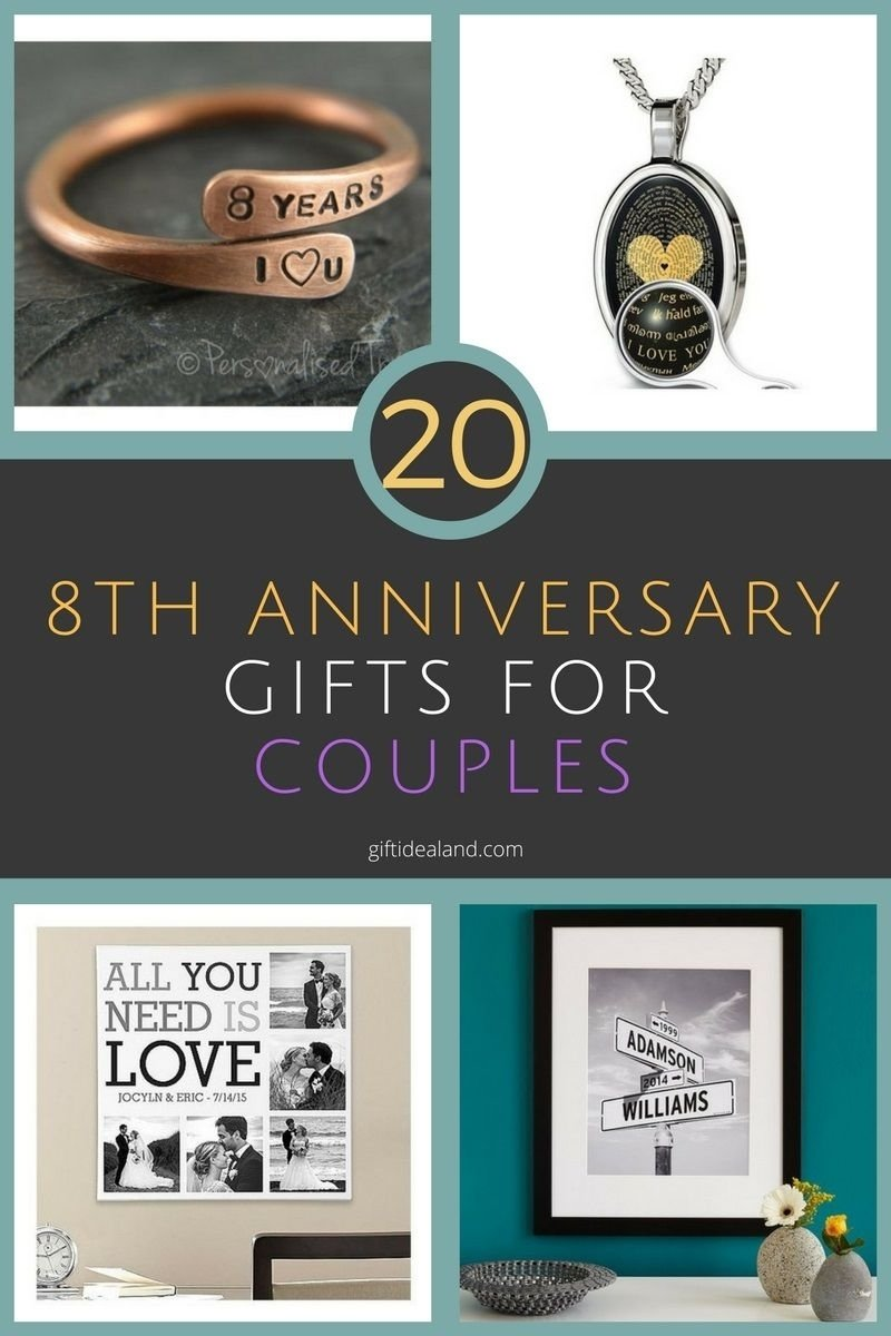 10 Famous 8Th Anniversary Gift Ideas For Her pic photo 8th wedding anniversary gift ideas for her custom