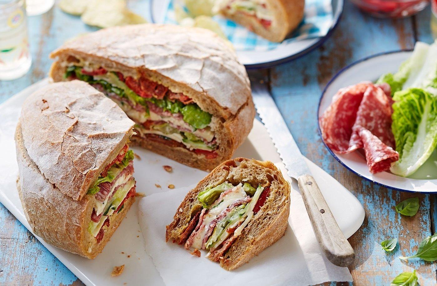 10 Perfect Food Ideas For A Picnic picnic loaf picnic ideas tesco real food 2020