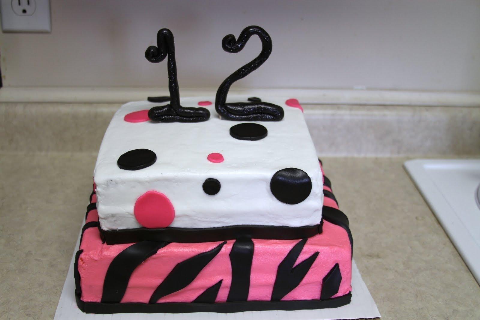 10 Elegant 12 Year Old Birthday Cake Ideas Pics Of