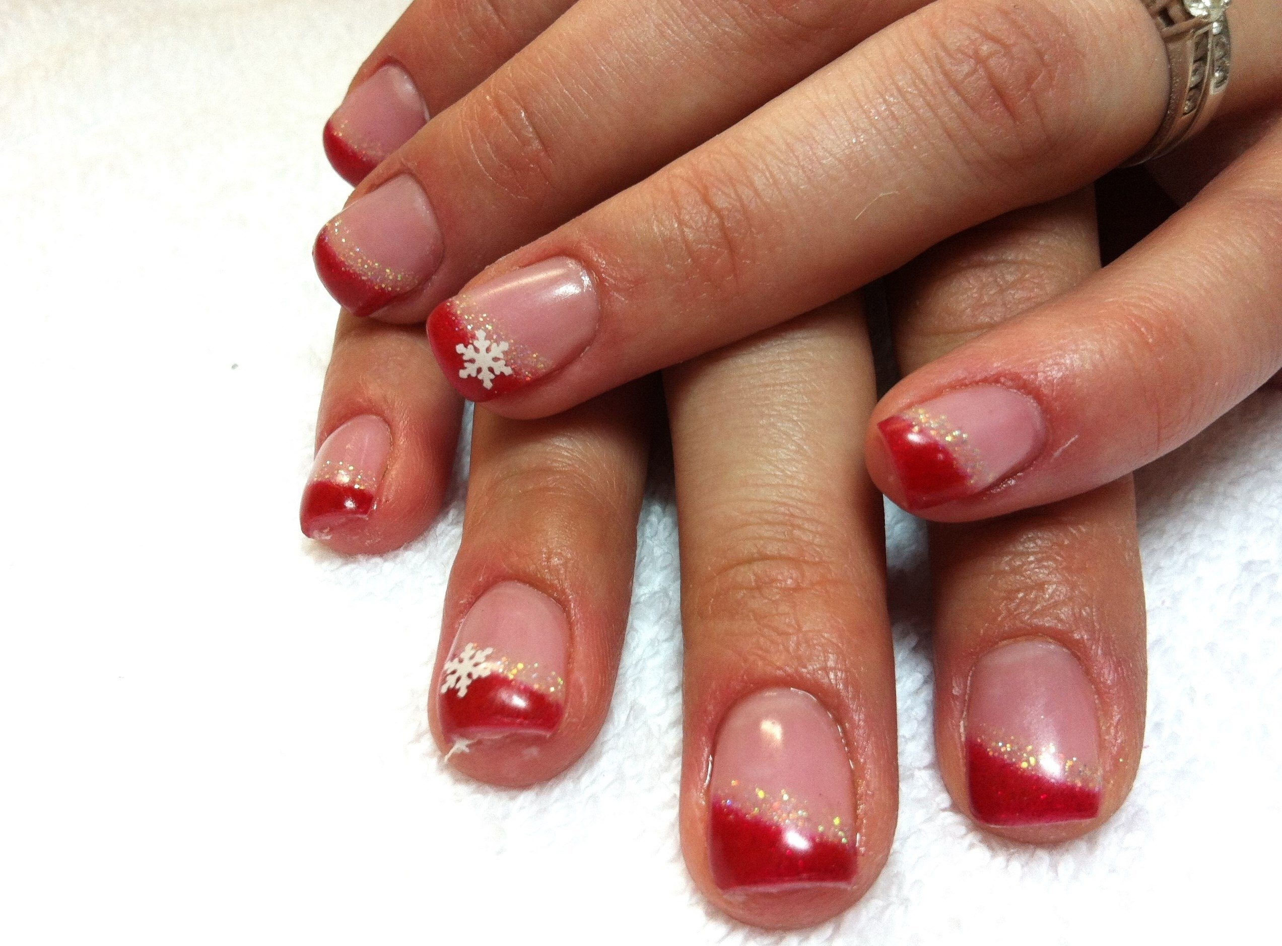 10 Awesome French Tip Nail Design Ideas picture 4 of 5 nail designs 2016 french photo gallery 2018 2020