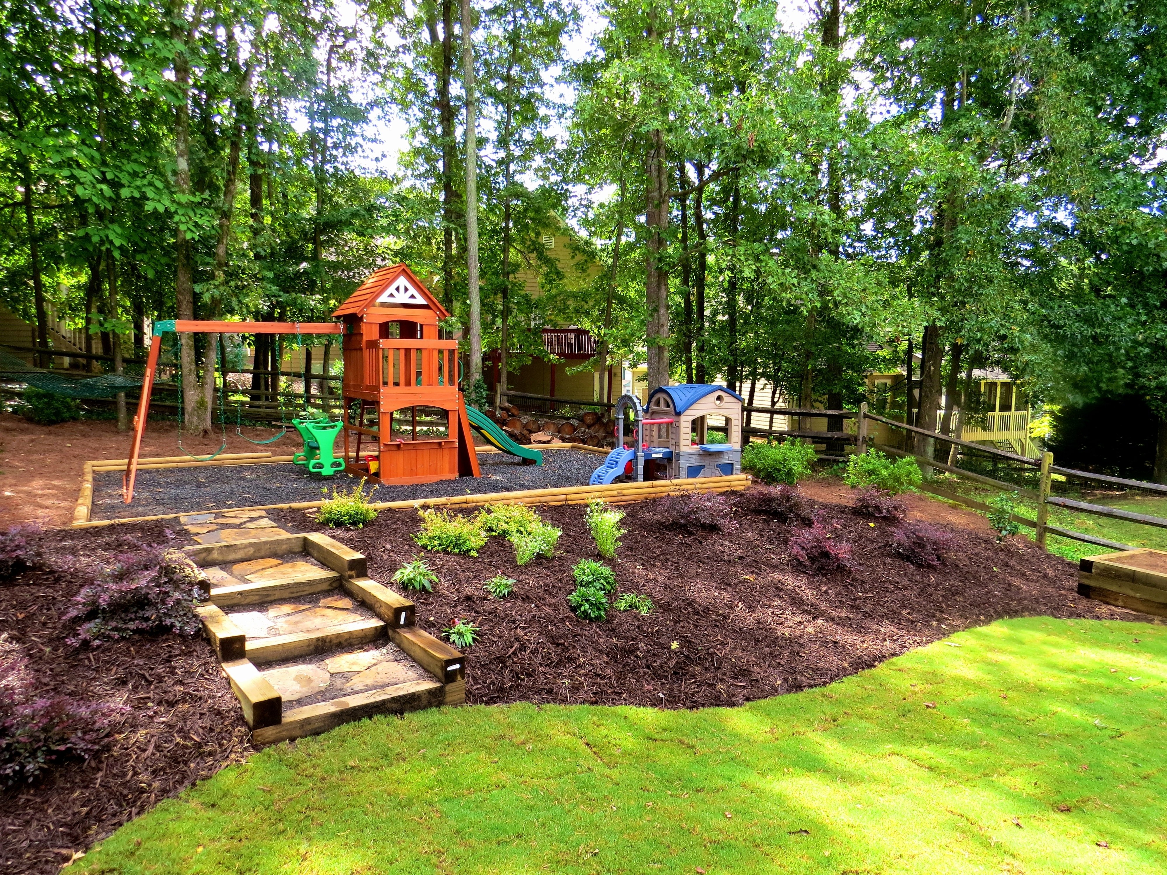 10 Lovable Landscape Ideas For A Slope picture 5 of 47 landscape ideas slope luxury gallery best sloped 1 2021