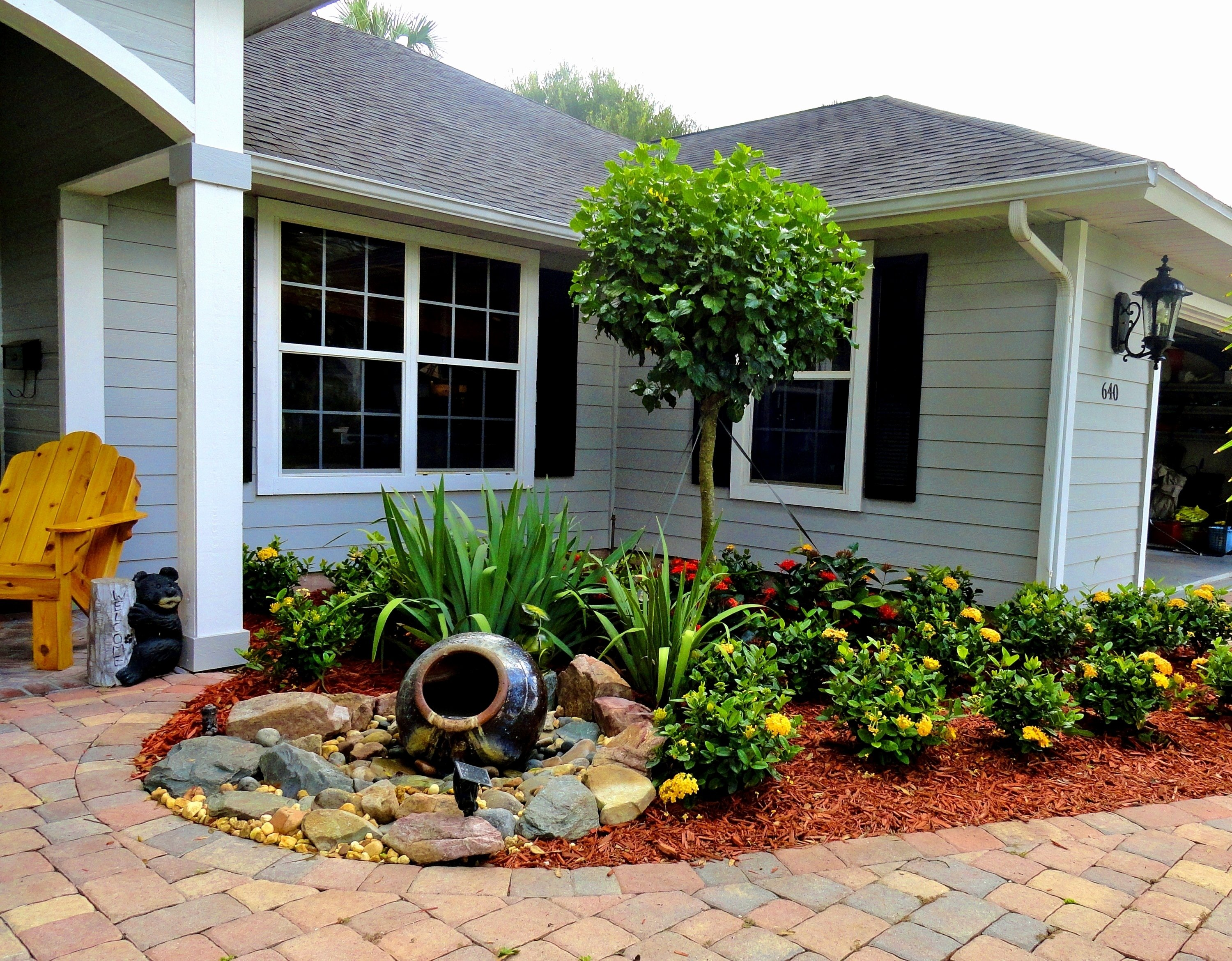 10 Spectacular Front Yard Landscaping Ideas For Small Homes picture 7 of 45 landscape ideas in texas best of bedroom winsome 2021