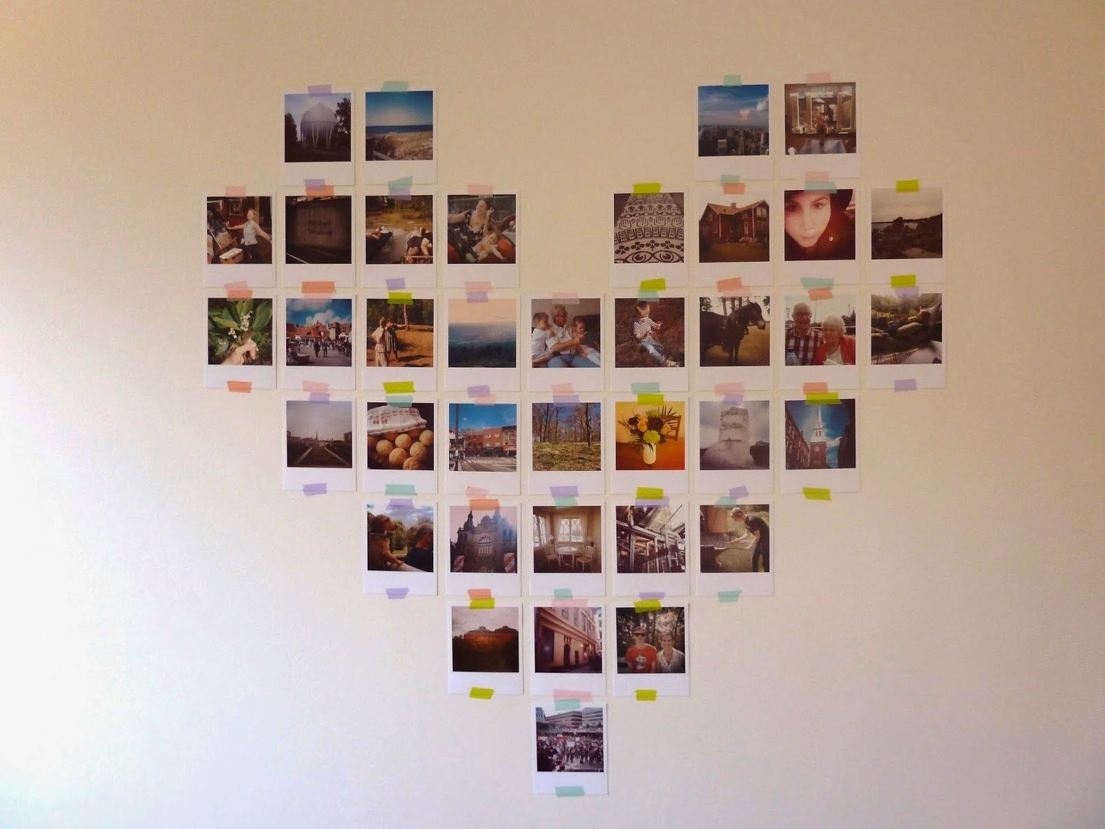 10 Trendy Photo Collage On Wall Ideas picture collage on wall ideas the stunning of wall collage ideas 2020