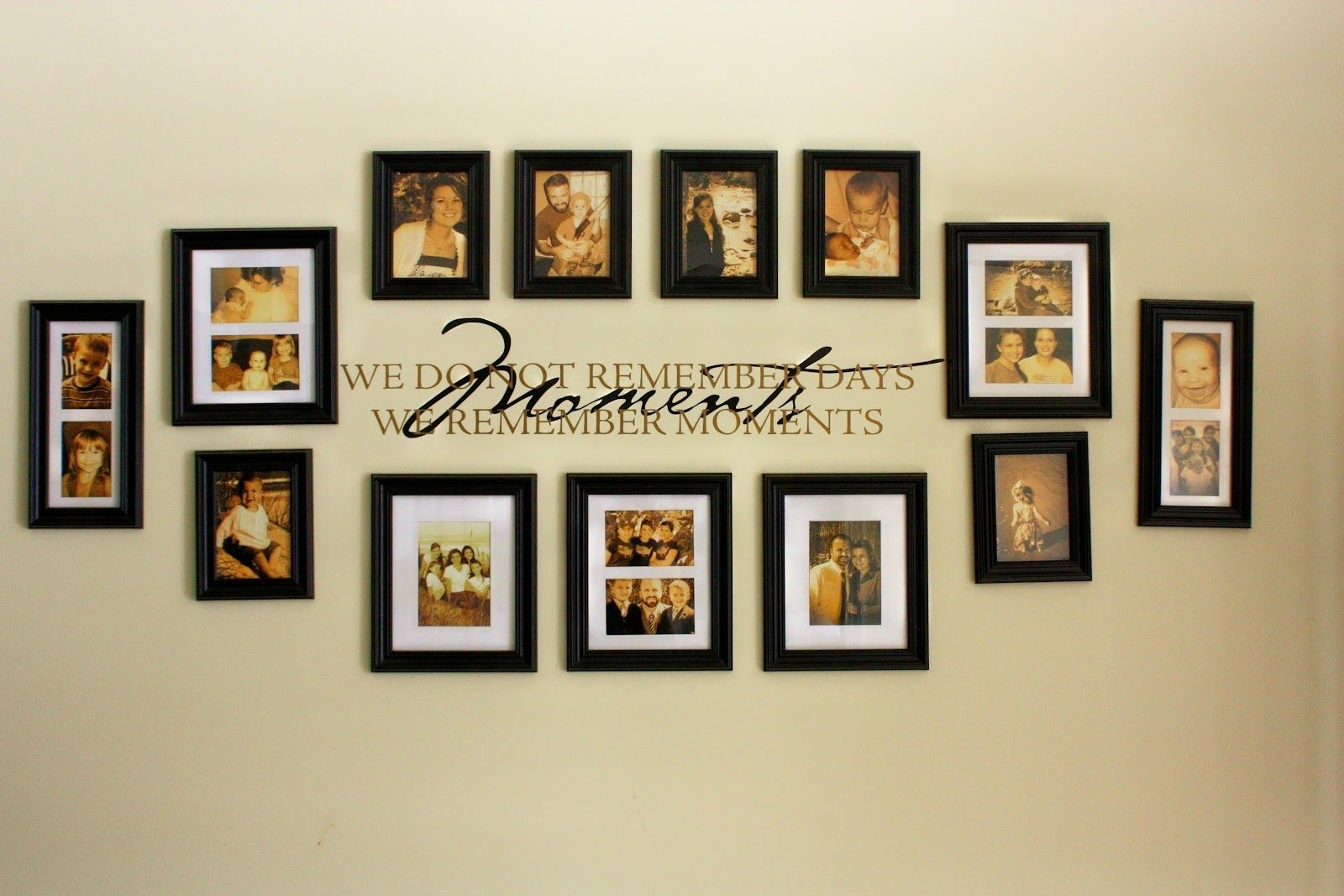picture frame wall design ideas • walls ideas