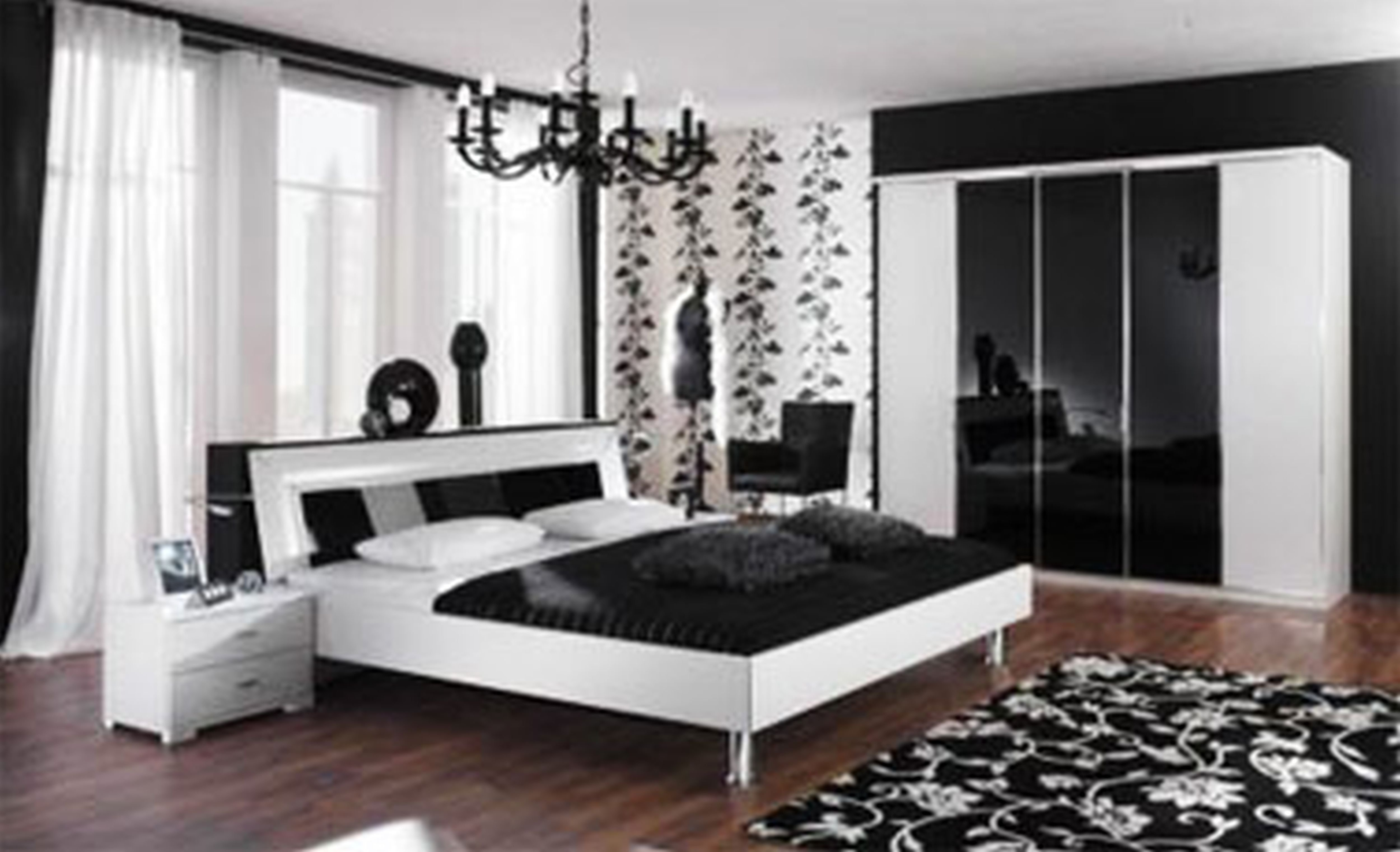 10 Wonderful Black And White Bedroom Ideas pictures of black and white bedrooms bedroom green and white bedroom 2020