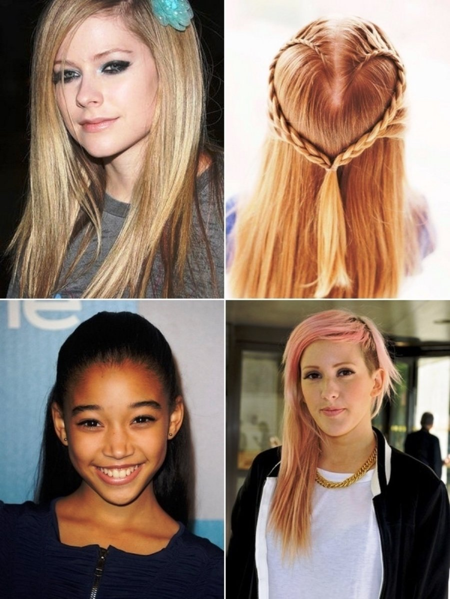 10 Unique First Day Of School Hair Ideas pictures of easy back to school hairstyles 2013 2020