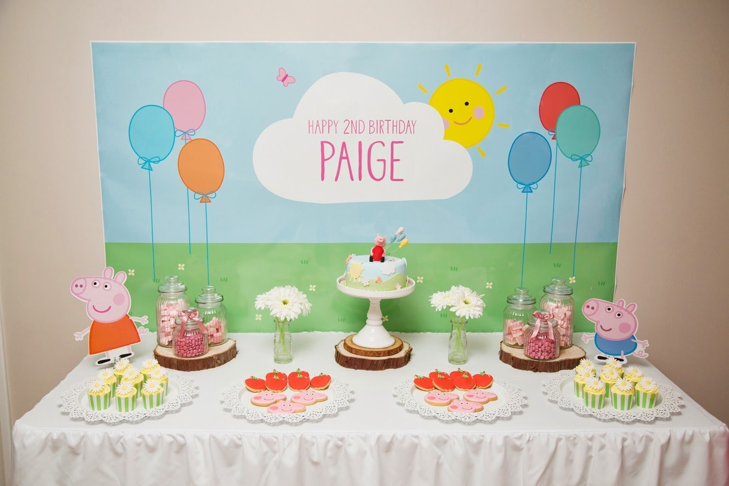 10 Unique Peppa Pig Birthday Party Ideas piece of cake paiges 2nd birthday peppa pig theme kids 2021