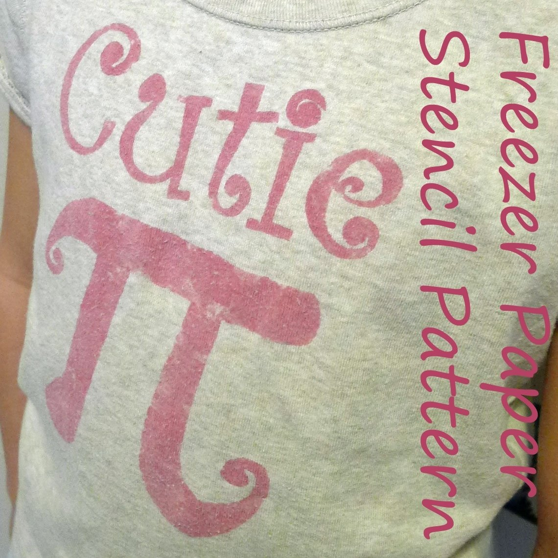10 Stunning Pi Day T Shirt Ideas piecespolly cutie pi shirt freezer paper stencil pattern 2020