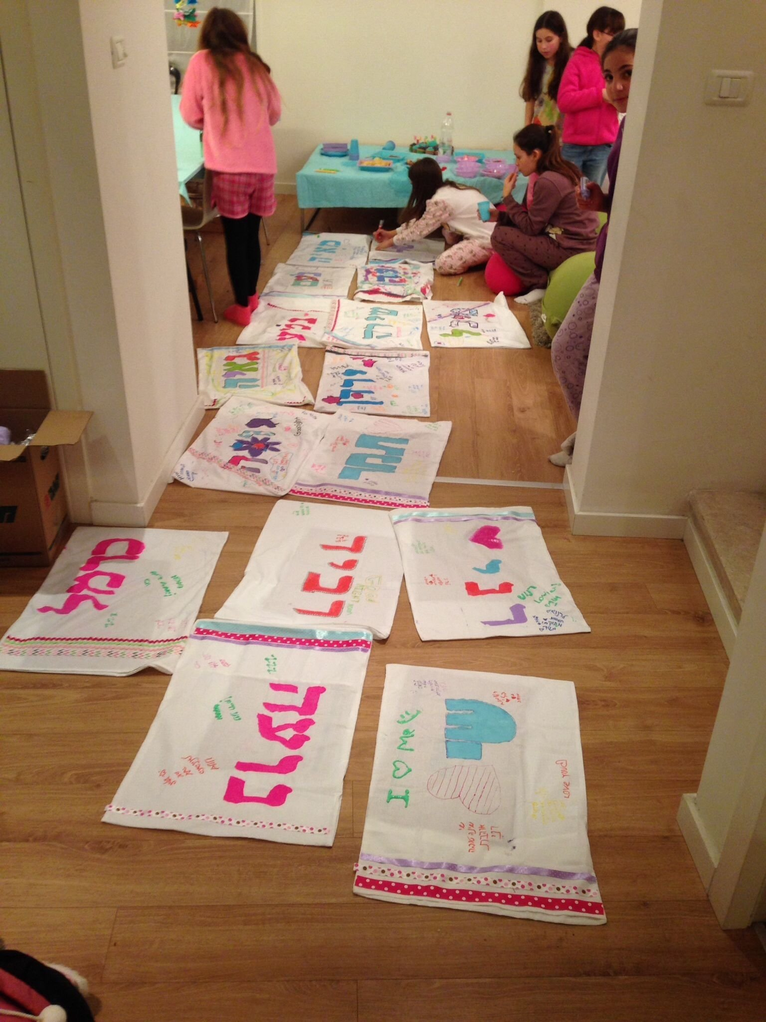 10 Awesome Slumber Party Ideas For 11 Year Olds pillowcase crafts at 11 year olds pyjama party kids parties 2 2020