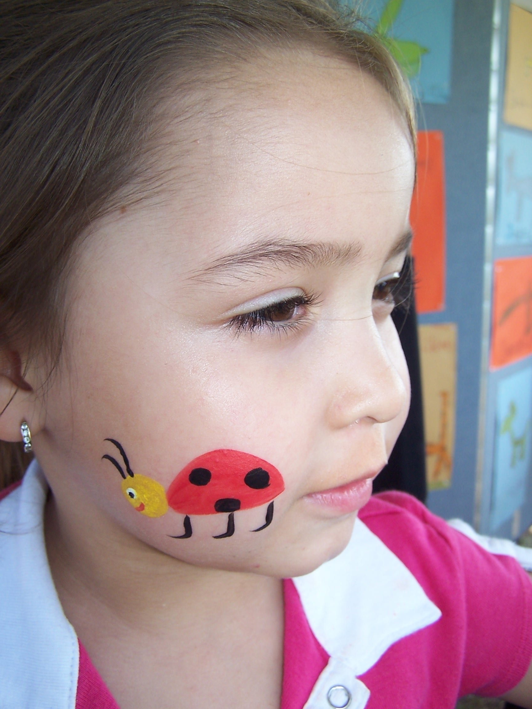 Cheek Easy Face Painting For Kids Face Paint Ideas