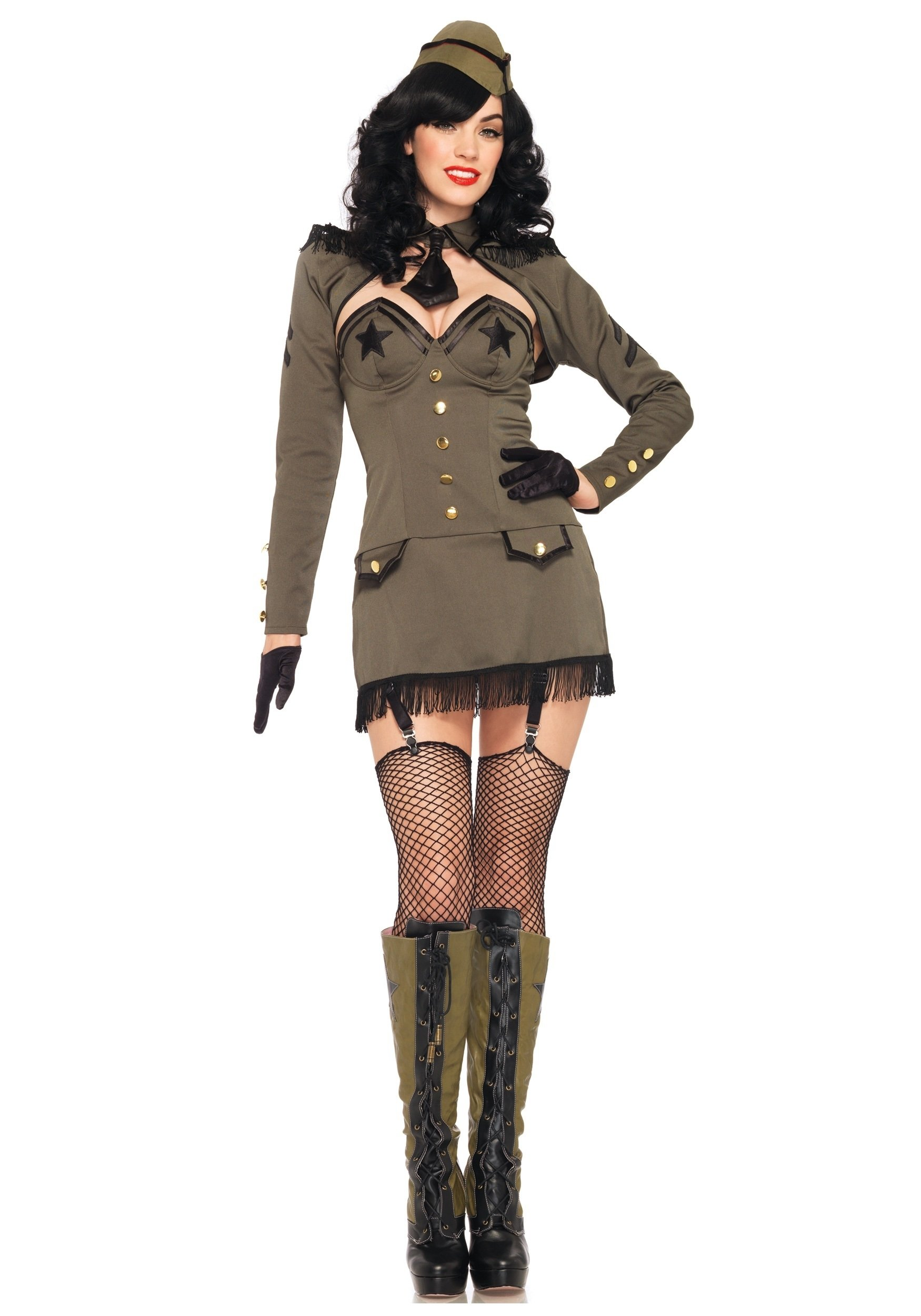 10 Nice Pin Up Girl Halloween Costume Ideas pin up army girl costume halloween costumes 2020