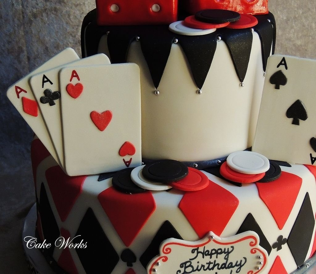 10 Stunning Las Vegas Birthday Party Ideas pin up birthday party ideas vegas night cake poker cakes las 2020