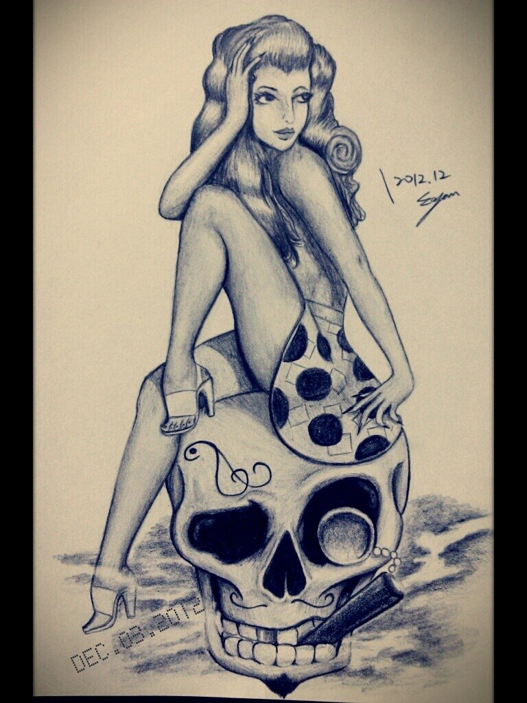 10 Pretty Pin Up Girl Tattoo Ideas pin up girls paintings pin up girleason41 on deviantart