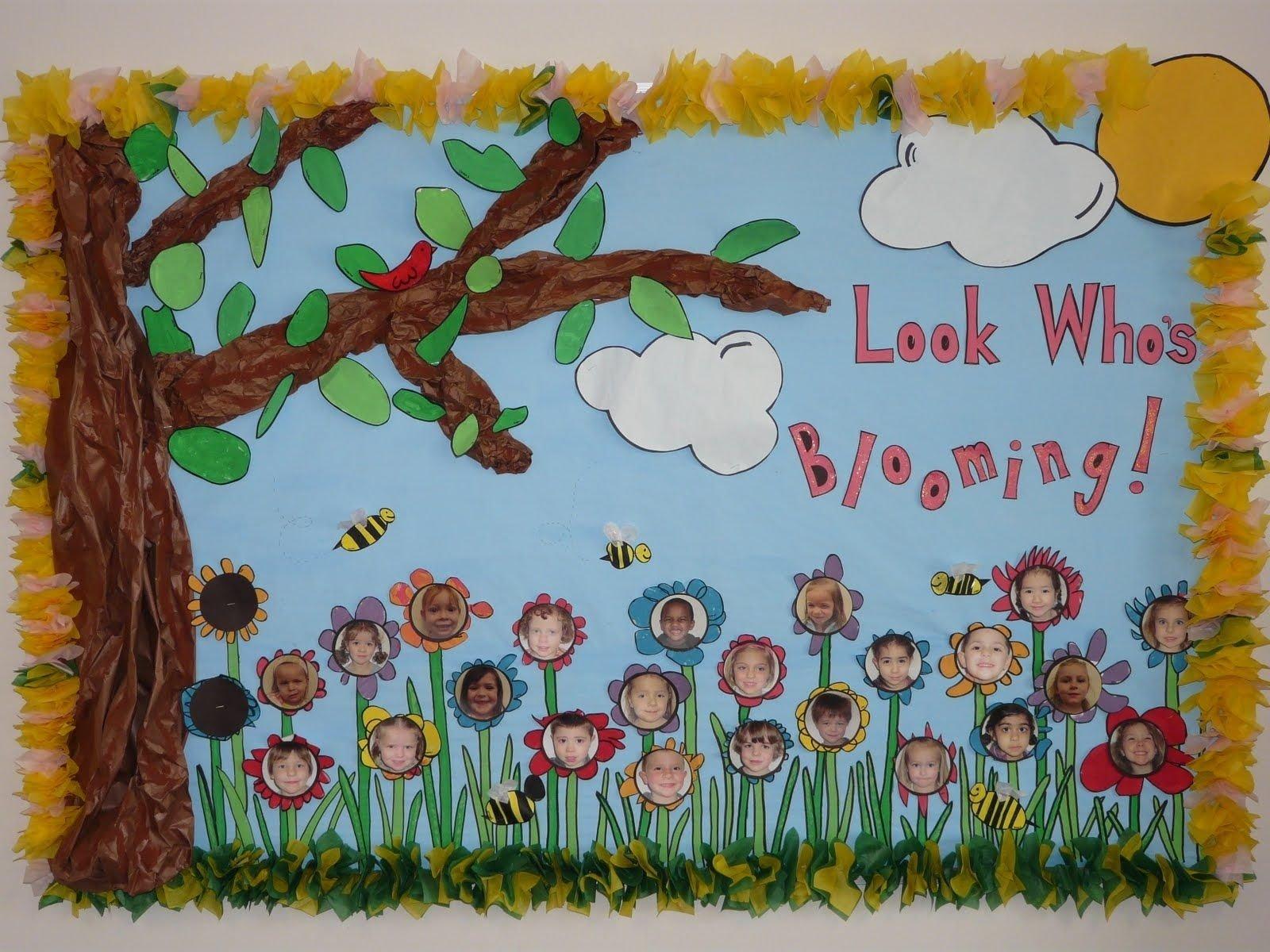 10 Attractive Spring Bulletin Board Ideas Preschool pinastra cullen on bulletin board ideas pinterest google 2021