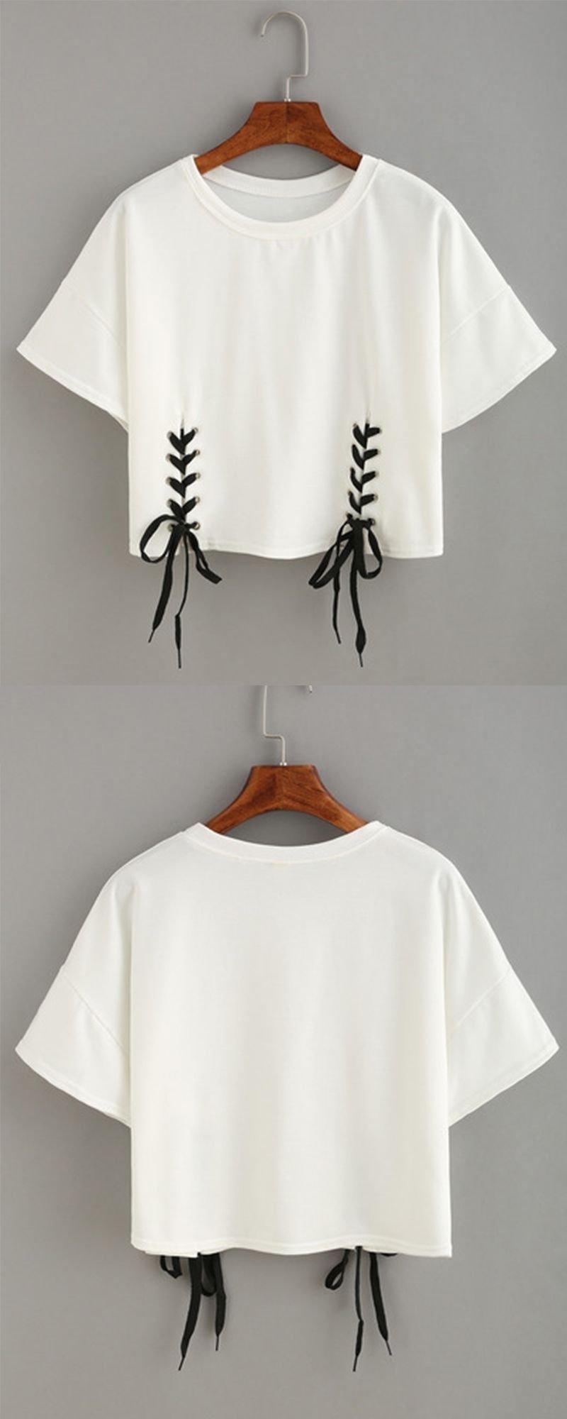 10 Lovely Ideas For Cutting T Shirts pinbenita the diva diy fashion blog on diy fashion 2020