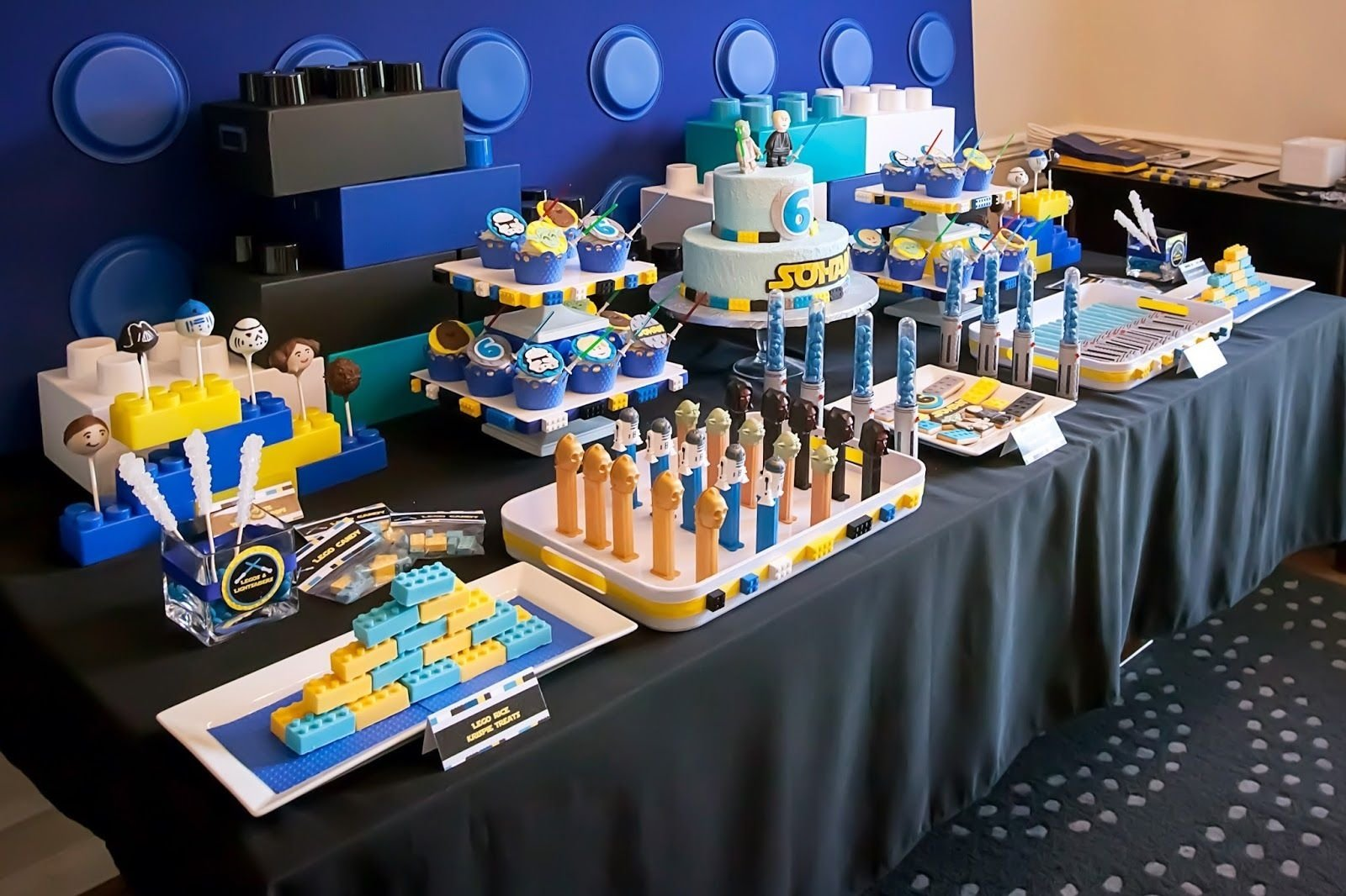 10 Fantastic Lego Star Wars Birthday Party Ideas pincobey dietrich on birthday parties pinterest lego star 2021