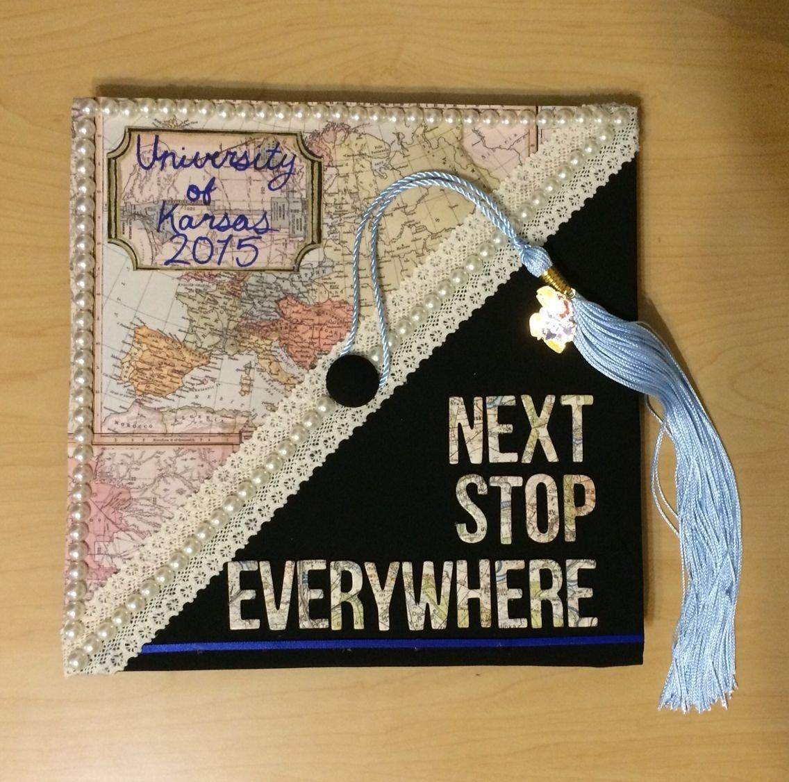 10 Most Recommended College Graduation Cap Decoration Ideas pine black on graduation caps pinterest cap grad cap and