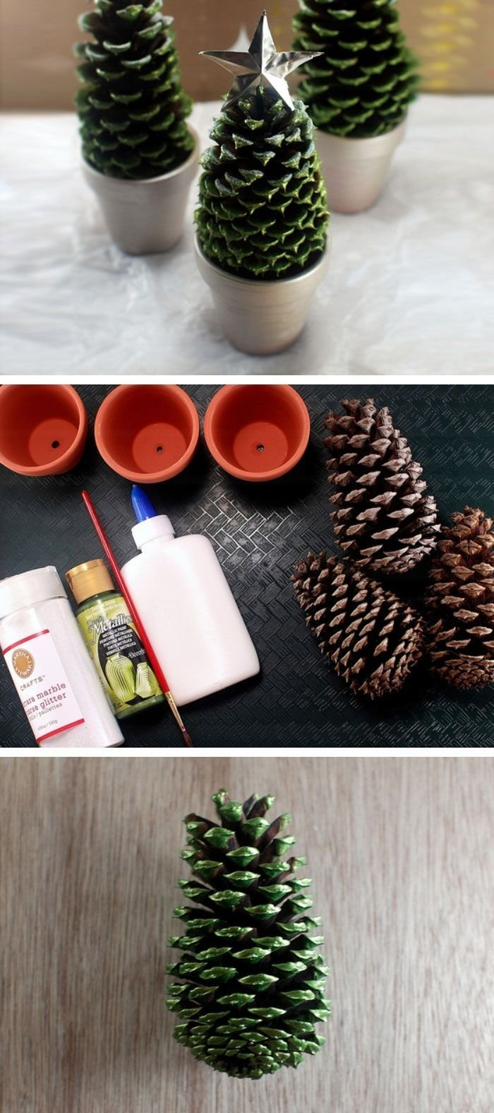 10 Unique Holiday Decorating Ideas On A Budget pine cone christmas trees click pic for 22 diy christmas decor 2020