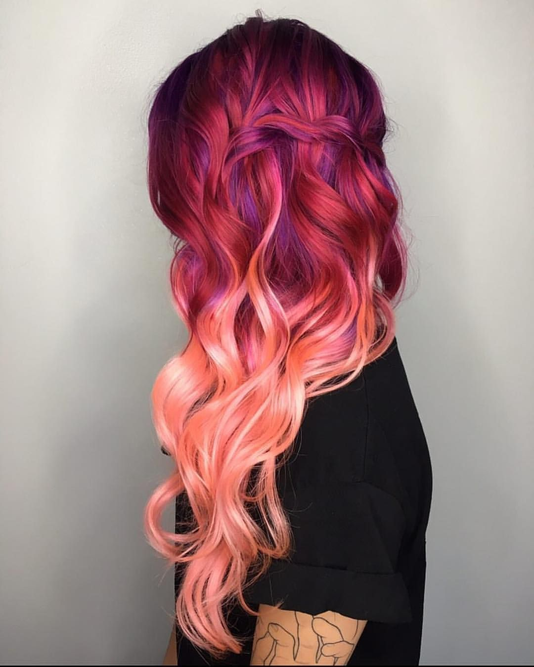 10 Cute Fun Red Hair Color Ideas pine2929ce292a9e2929c on e29d83dyed haire29d83 pinterest hair styles dyed hair 2020