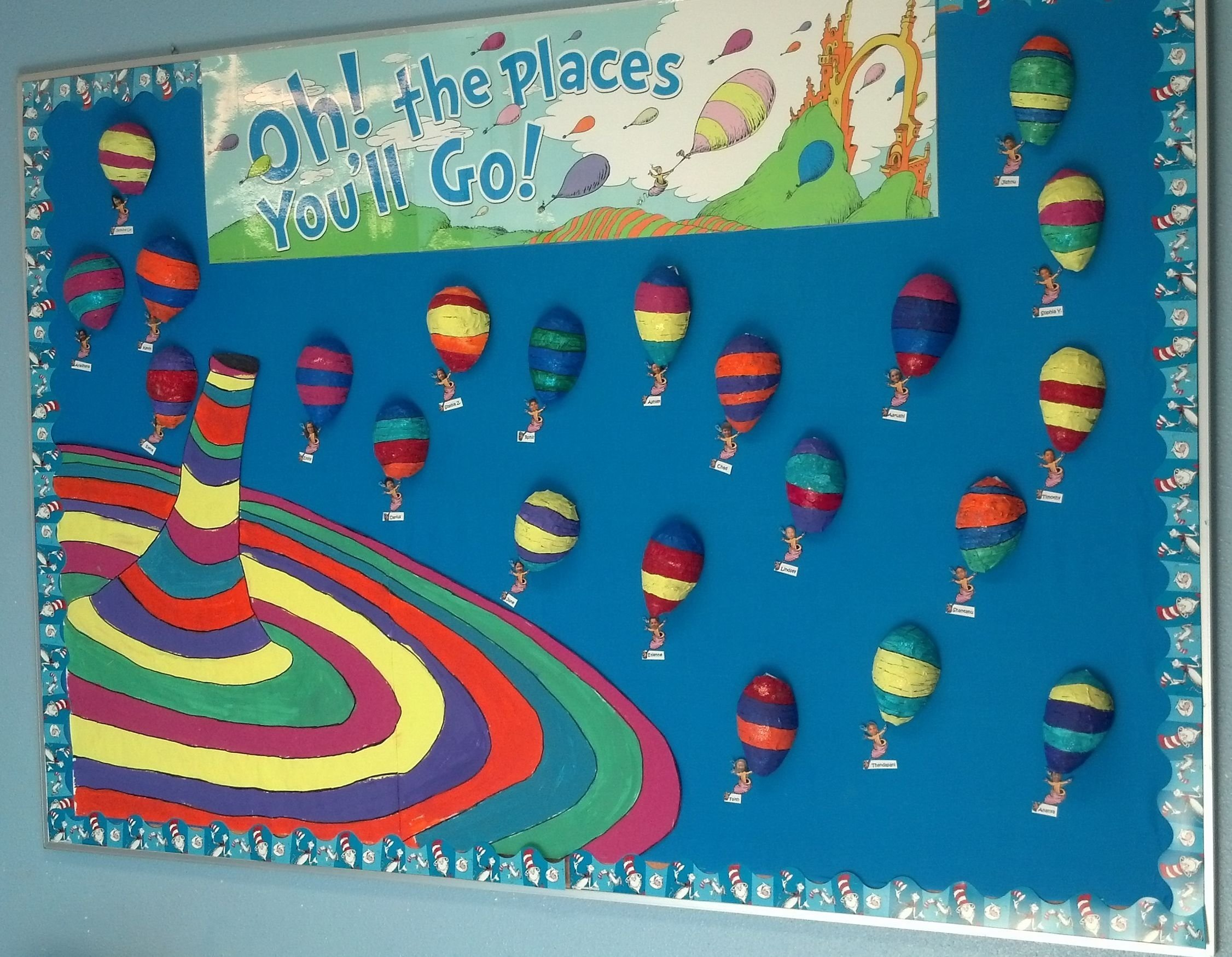10 Lovable Oh The Places You Ll Go Bulletin Board Ideas pinedith johnson on great kinder ideas pinterest bulletin board
