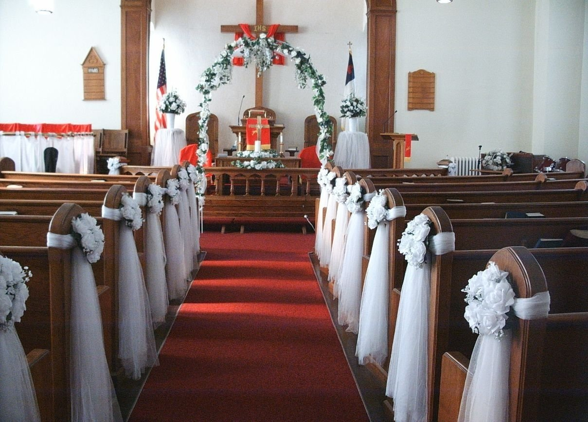 10 Great Wedding Decoration Ideas For Church pineivi deveny on weddings pinterest churches decorating 2020