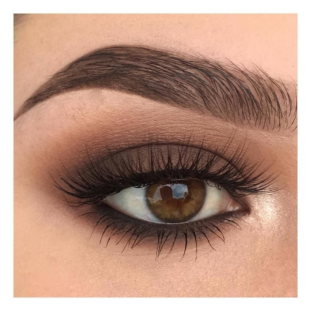 10 Spectacular Makeup Ideas For Brown Eyes pinfaith herman on hair nails pinterest eye makeup and brown 2020