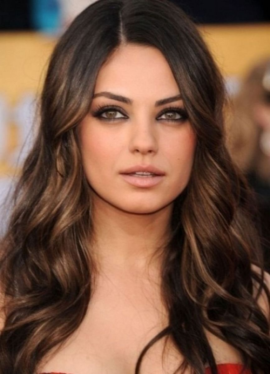 10 Great Hair Color Ideas For Dark Skin Tones pinjoanahairwedding on hair color ideas pinterest brown eyes 2