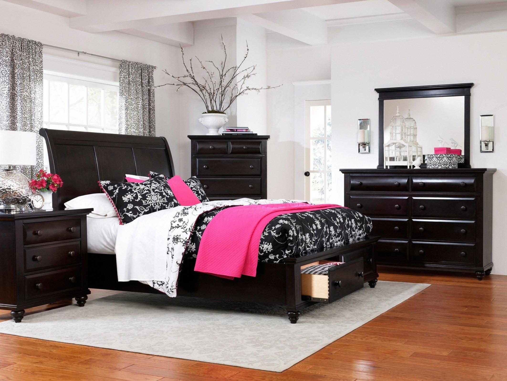 10 Lovable Pink And Black Bedroom Ideas pink and black bedroom furniture home decorating interior design 2020