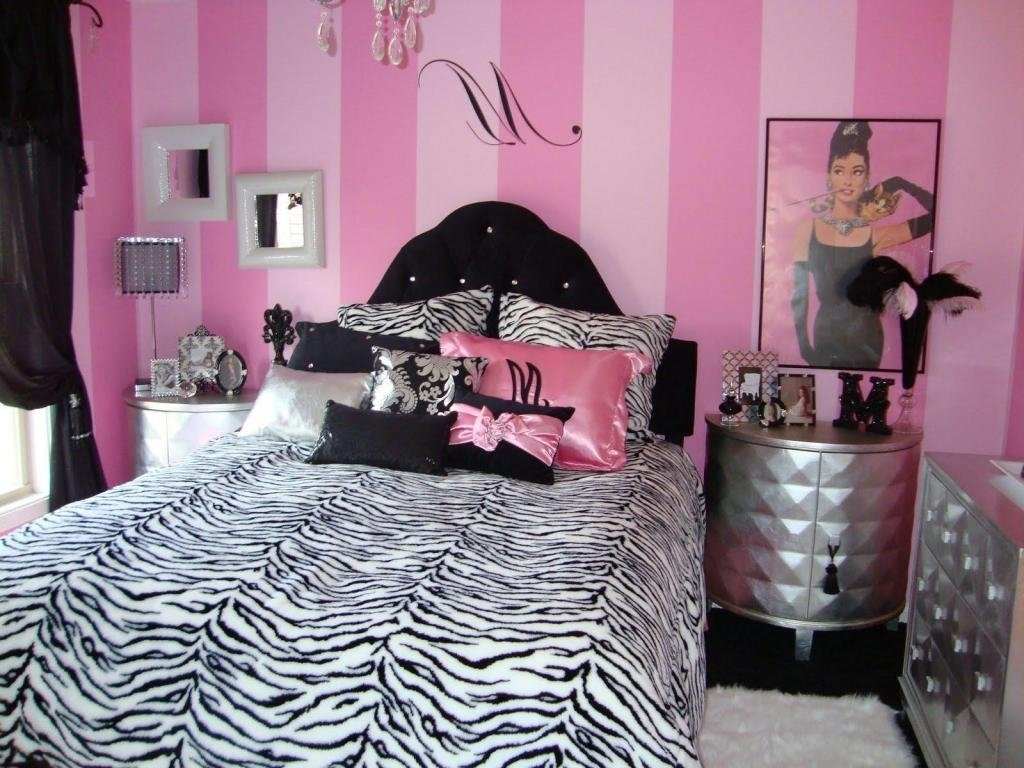 10 Most Recommended Pink Black And White Room Ideas pink and black bedroom furniture 2020