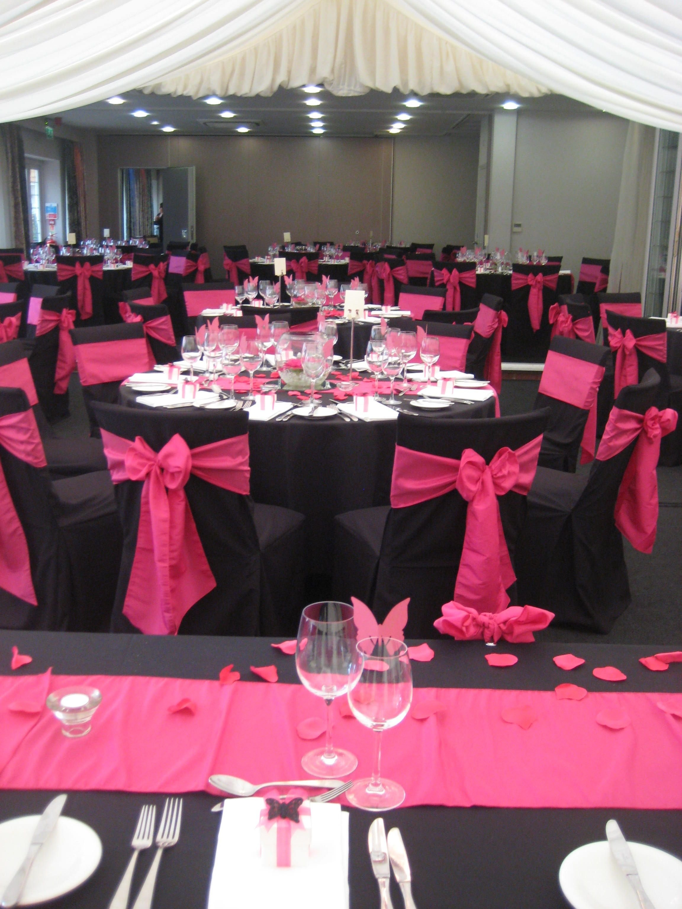 10 Beautiful Pink And Black Wedding Ideas