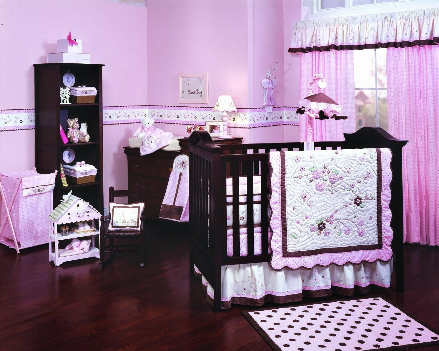 10 Lovely Pink And Brown Nursery Ideas pink and brown nursery decor palmyralibrary 2020