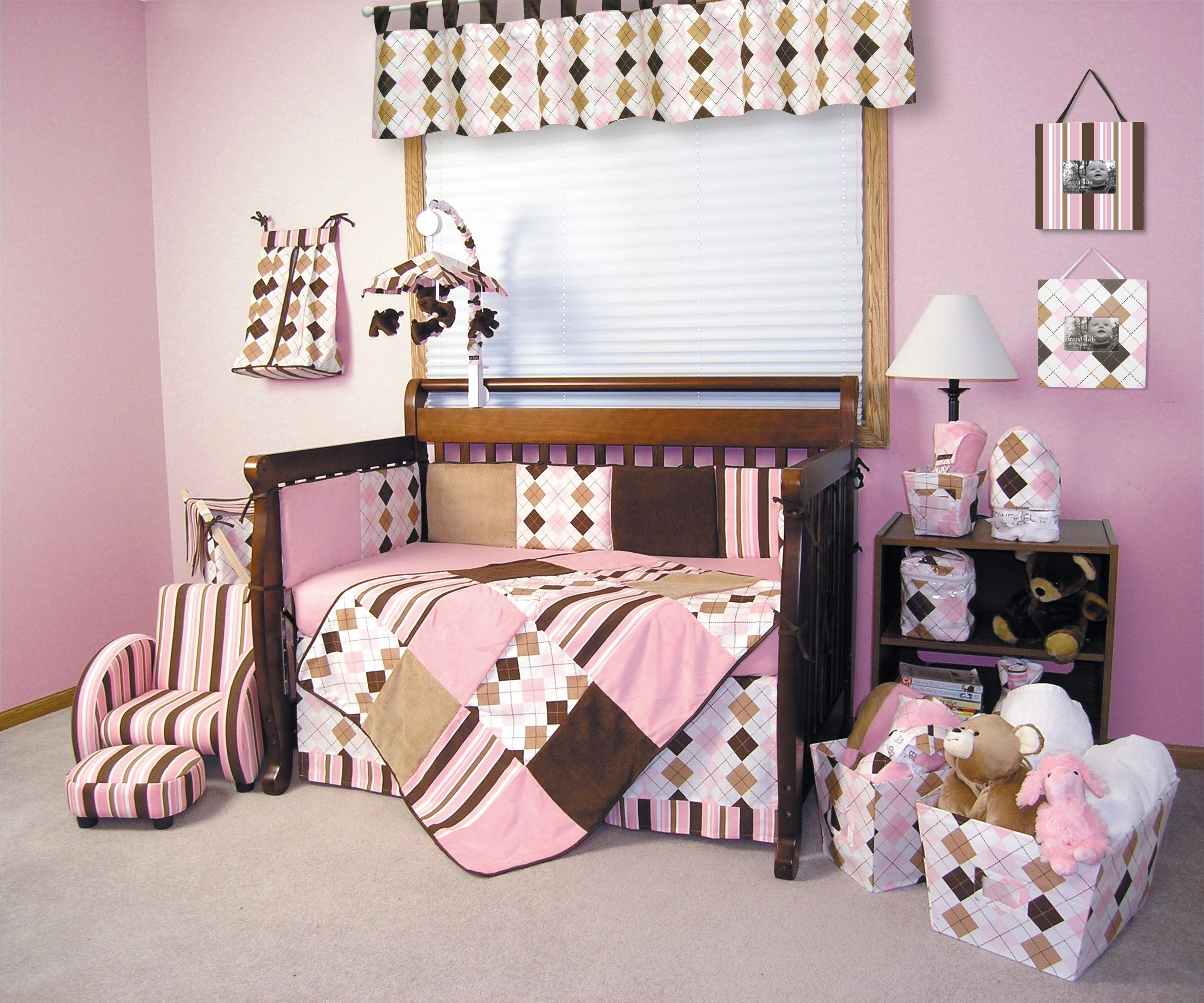 10 Lovely Pink And Brown Nursery Ideas pink and brown nursery purple baby girl bedroom ideas pink and 2020