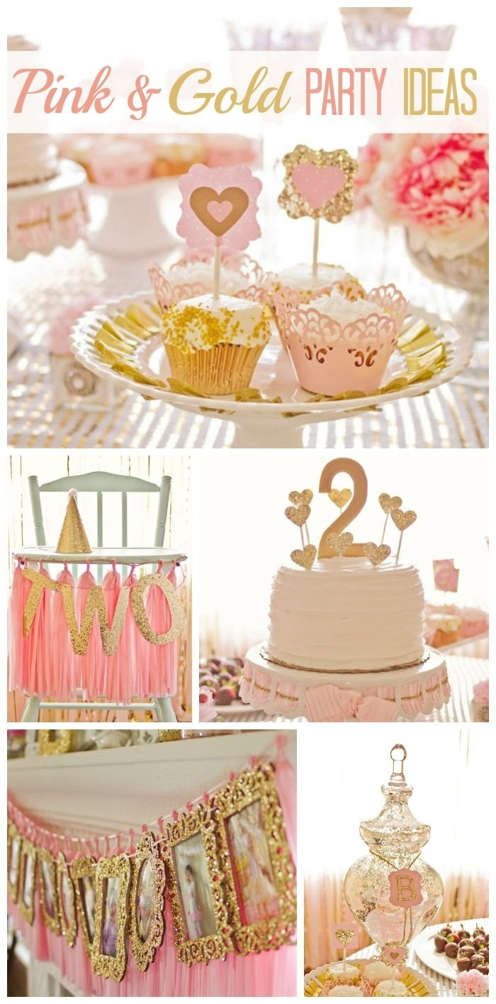 10 Best Golden Birthday Ideas For Kids pink and gold birthday bridgets pink and gold 2nd birthday 2021