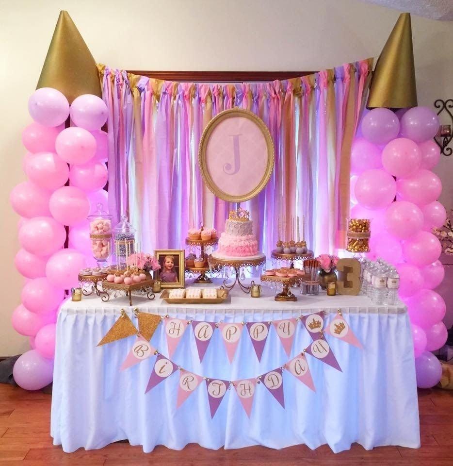 pink and gold princess birthday party | princess birthday, cake pop