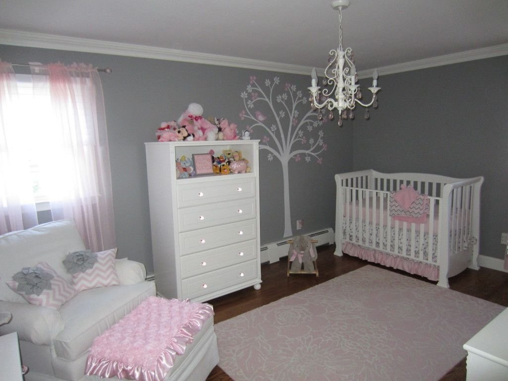 10 Ideal Pink And Grey Nursery Ideas pink and gray classic and girly nursery chevron blanket grey 2021