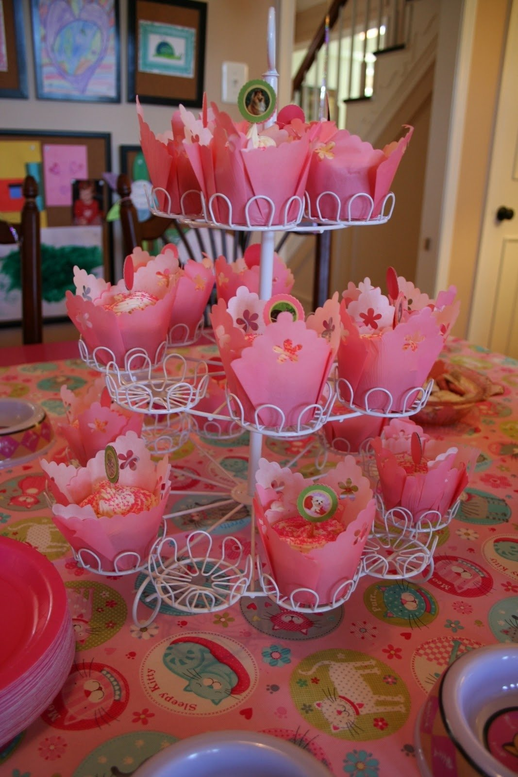 10 Lovable 4Th Birthday Party Ideas Girl pink and green mama birthday party highlights pink kitty 4th