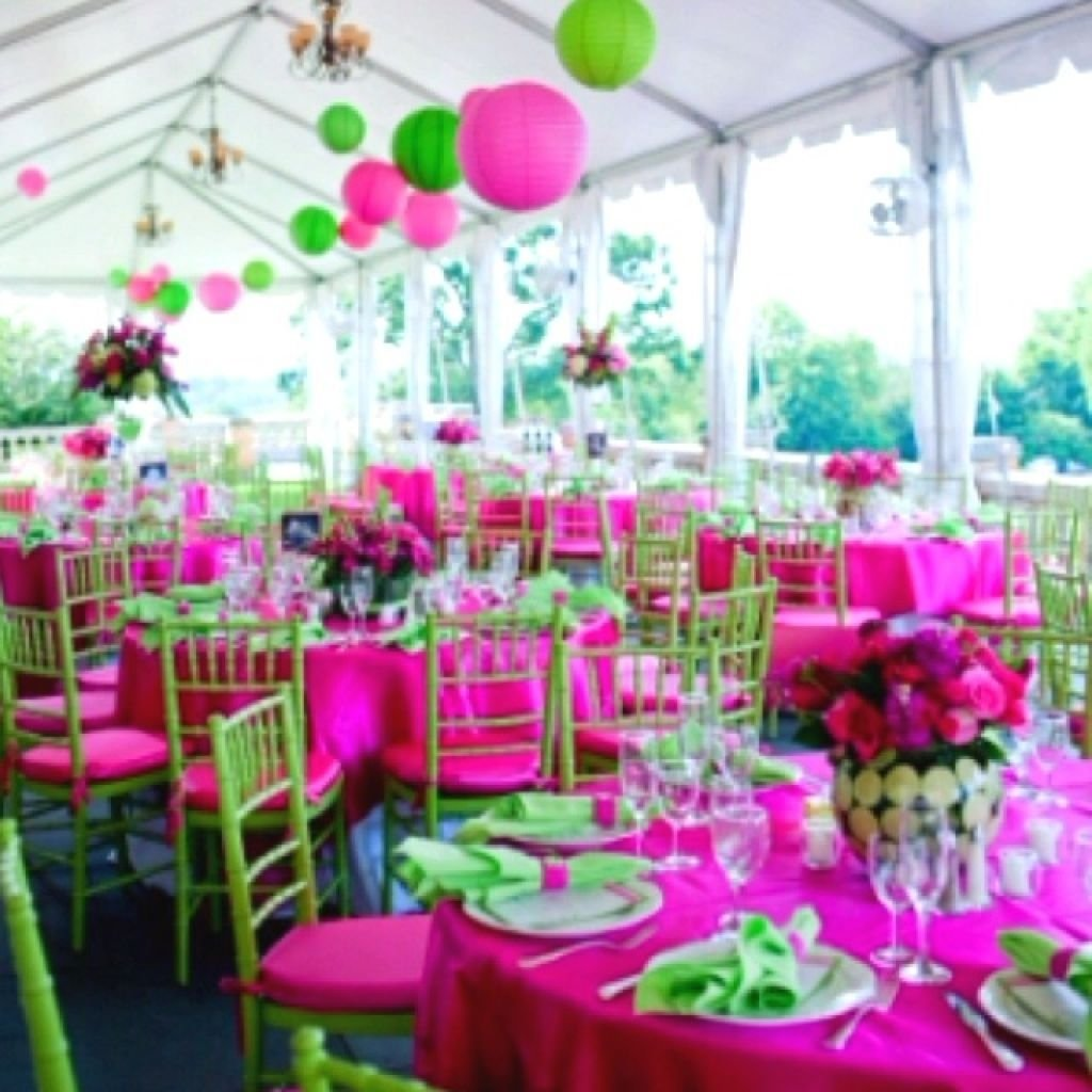 10 Awesome Pink And Green Wedding Ideas