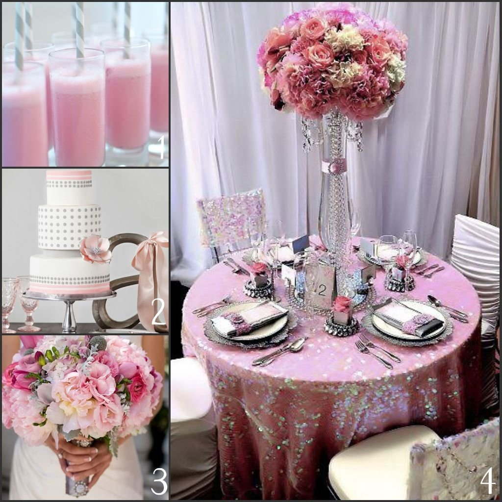 Wedding Site Ideas: 10 Perfect Pink And Gray Wedding Ideas 2019
