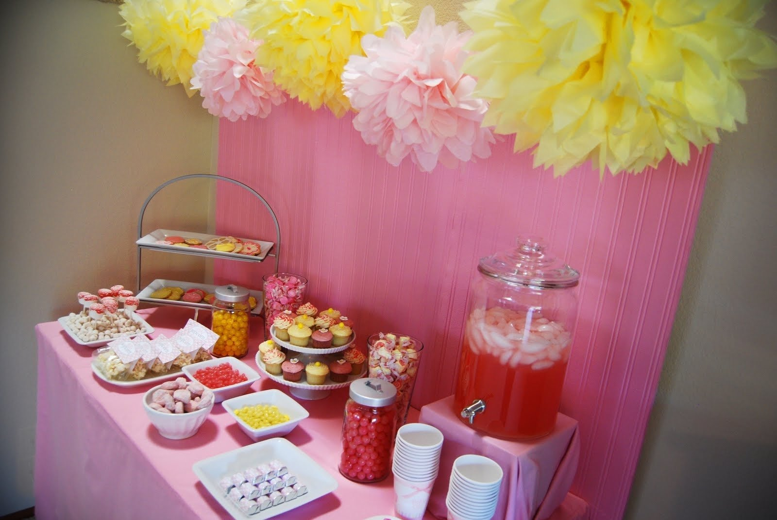 10 Stunning Pink And Yellow Baby Shower Ideas pink and yellow baby shower baby interior design 2020