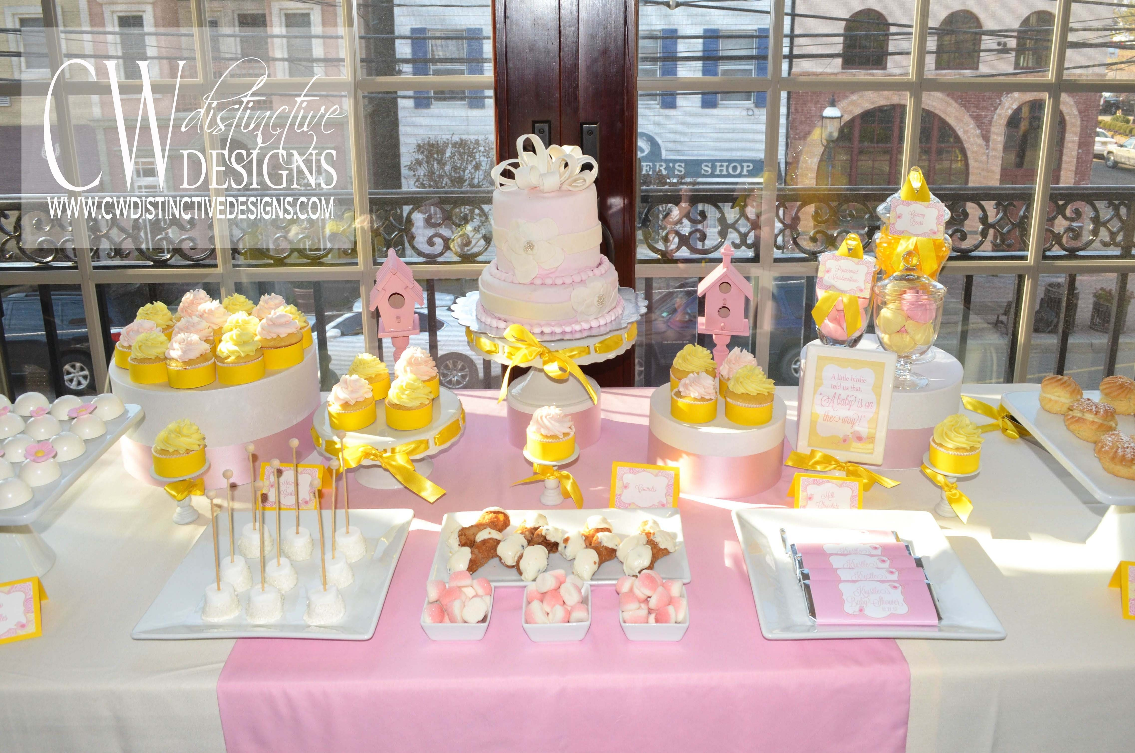 10 Stunning Pink And Yellow Baby Shower Ideas pink and yellow baby shower cw distinctive designs 2020