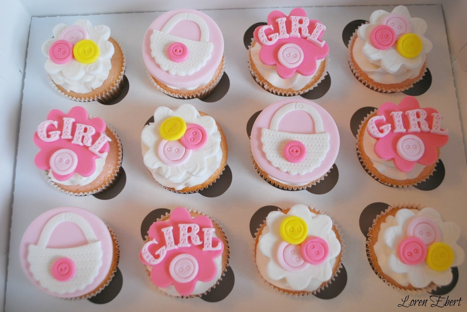 10 Lovely Cupcake Ideas For Baby Shower pink baby shower cupcakes google search cupcakes pinterest 1 2021