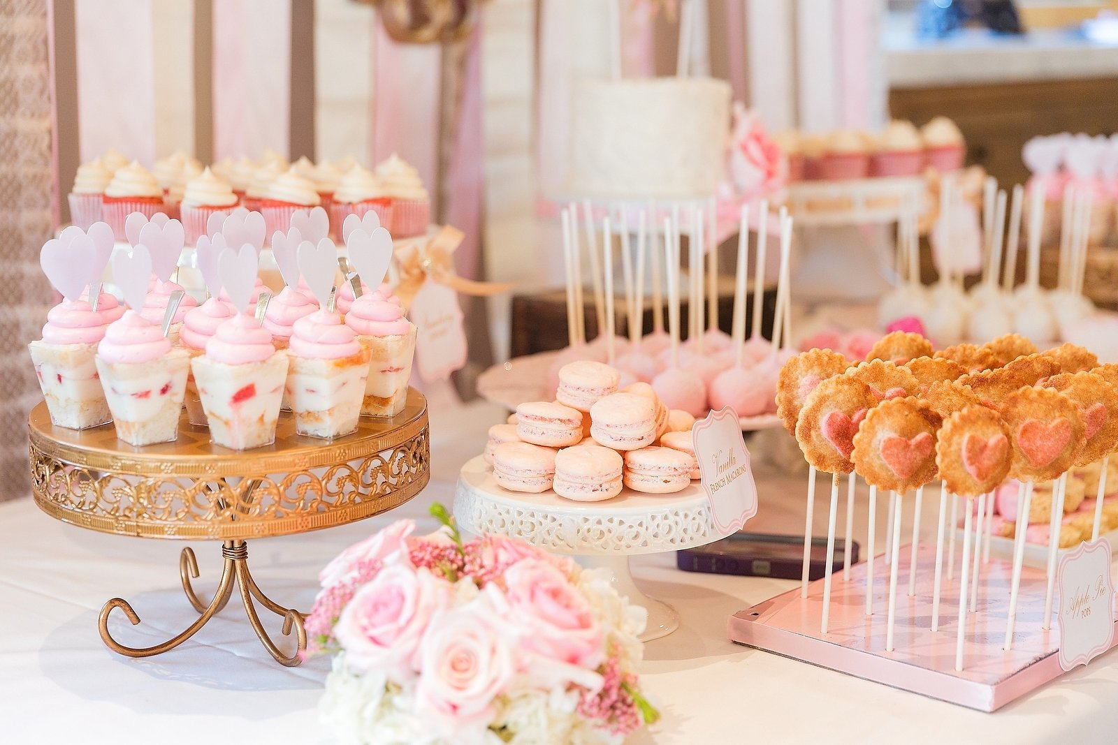 10 Most Recommended Baby Shower Candy Table Ideas pink baby shower dessert table cakegoodness pinterest pink baby
