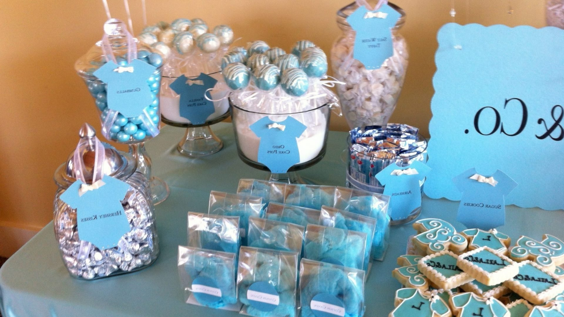 10 Pretty Candy Table Ideas For Baby Shower pink babyr candy table ideas girl boy formidable 6707234 orig baby