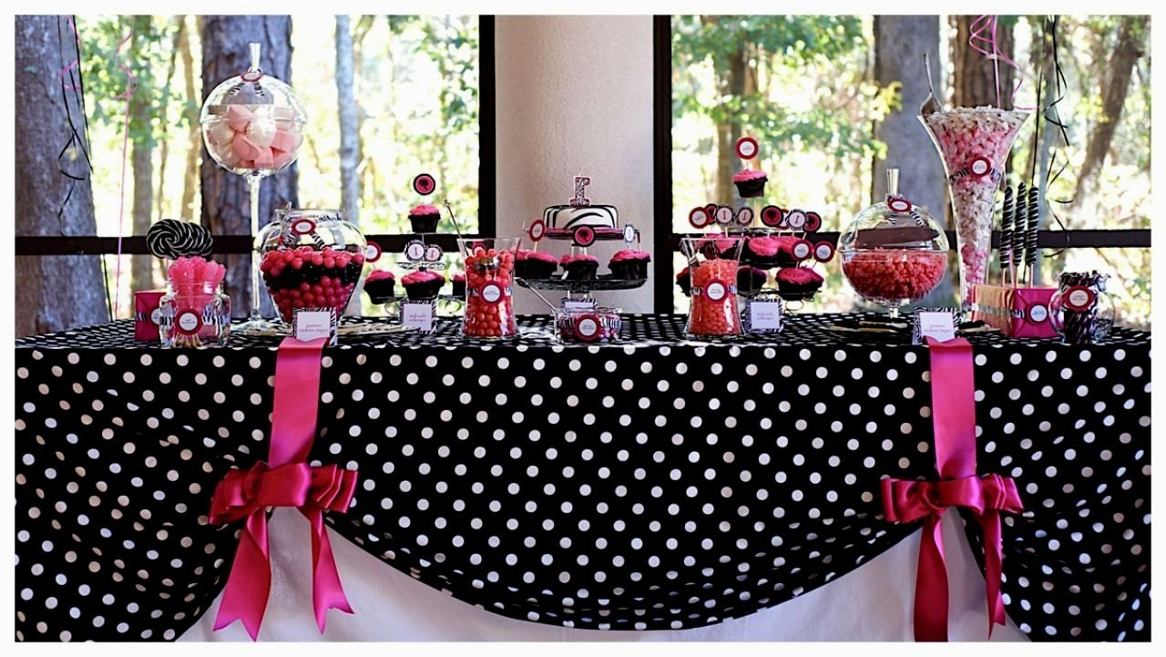 10 Famous Pink And Black Party Ideas pink black and white party decorations decorating of party party 2020