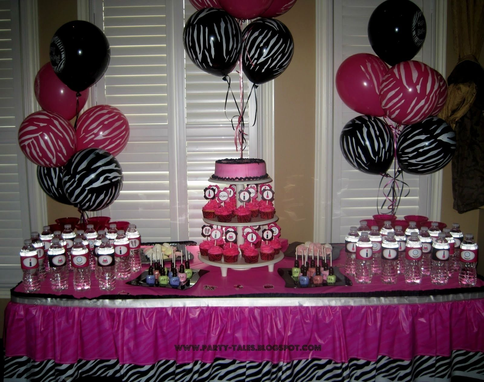 10 Perfect Pink And Black Baby Shower Ideas pink black zebra print baby shower decorations e280a2 baby showers design 2021
