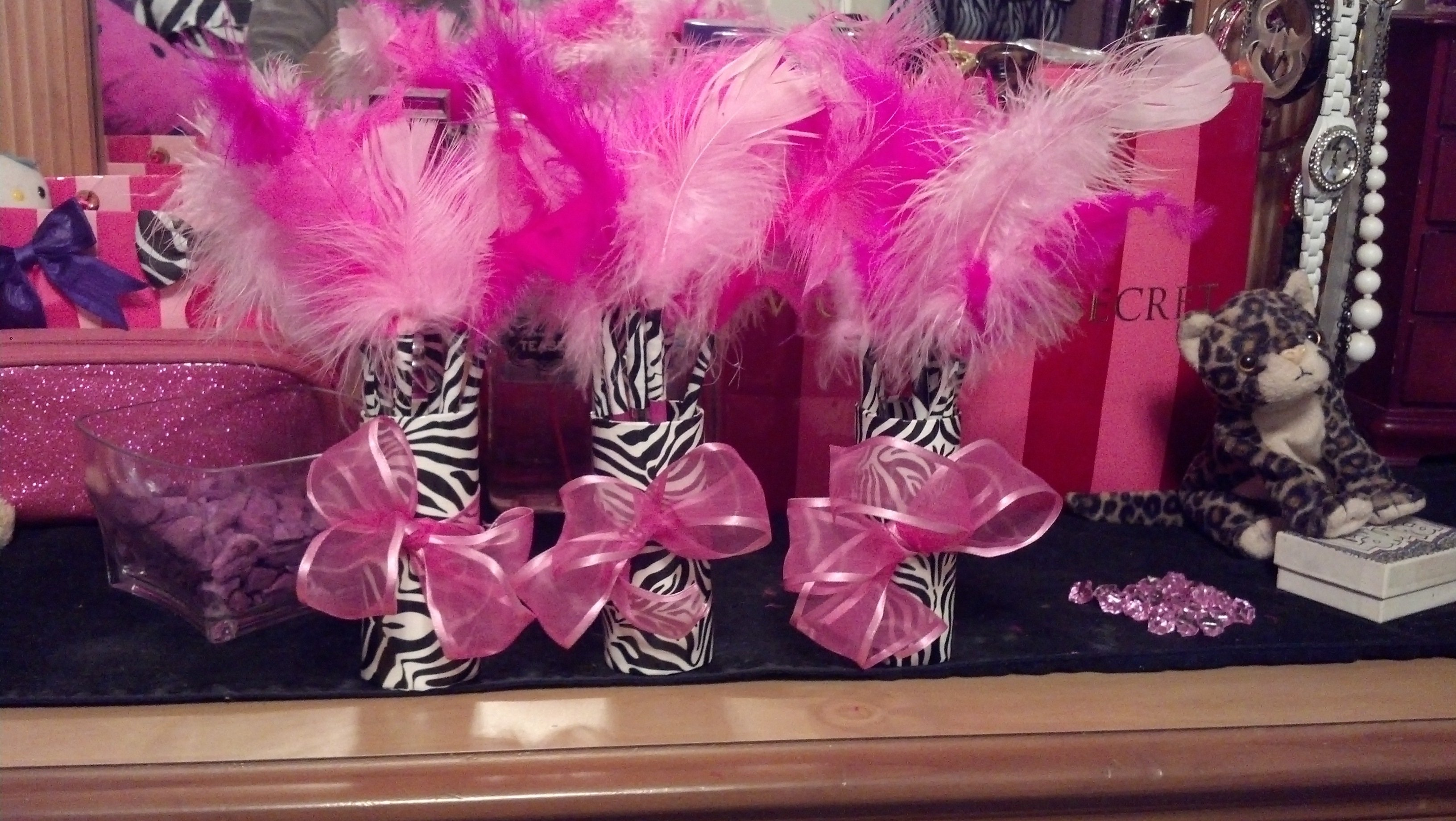pink cheetah baby shower ideas • baby showers ideas