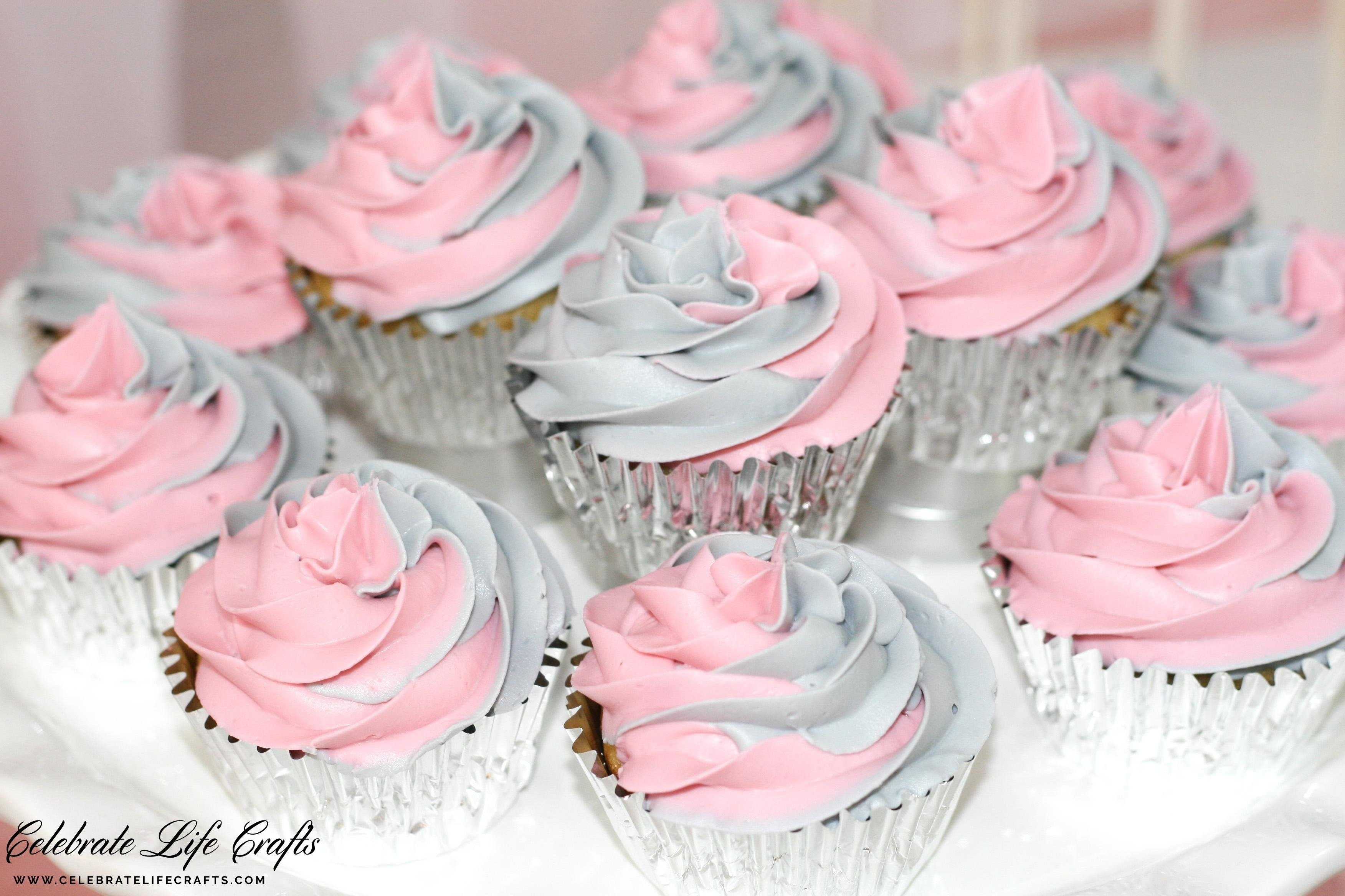 10 Stylish Pink And Gray Baby Shower Ideas