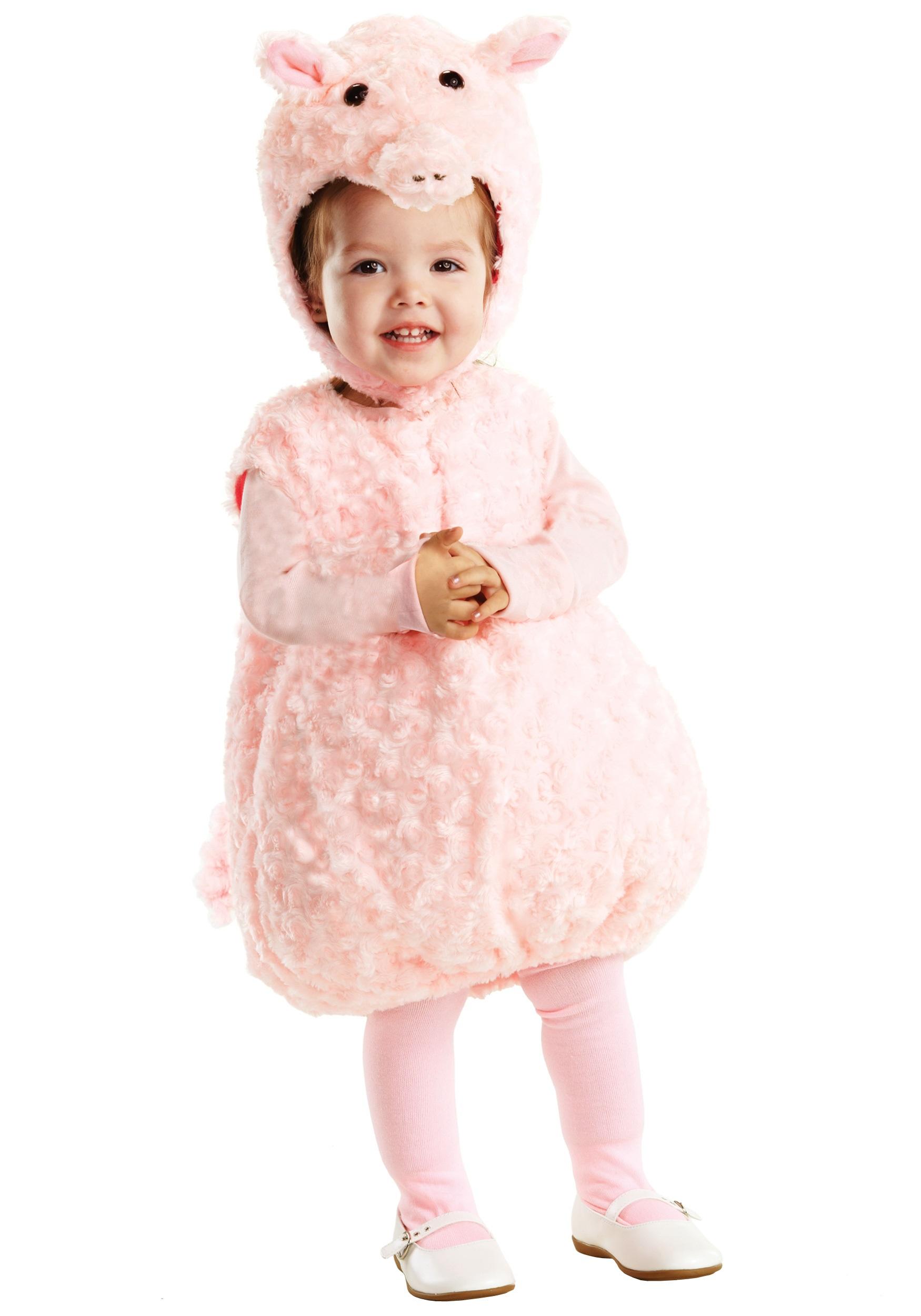 10 Wonderful Baby Costume Ideas For Girls pink piglet toddler farm costume child pig animal costume ideas 2021